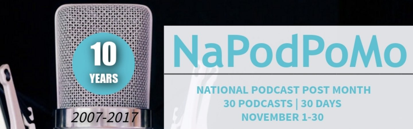 National Podcast Post Month